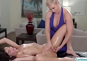 X-rated MILF Ryan licks babe Emilys pussy
