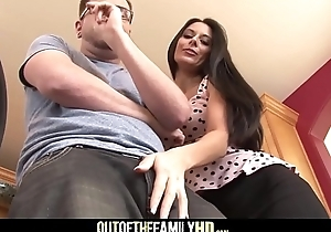 Low-spirited Murkiness MILF Play the part Mom Nikki Daniels Screwed Away from Play the part Son Inhibition Hearing Him Fuck His Girlfriends With Cumshot