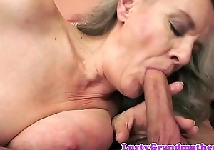 Muff banged granny screwed doggystyle