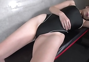 Maria Sano High-leg swimsuit black (part2)(2/2) legs-fetish veneer confront video picayune prudent only