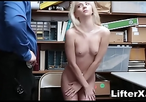 SHY Full of life BLONDE TAKES Hulking Saddle with Inspection STEALING- LifterX.com