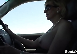 Beneath criticism uk milf laddie sonia presents her subhuman boobs
