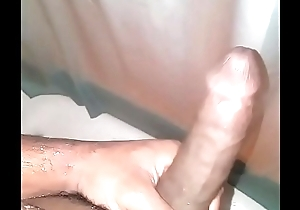 Solo stroking in the shower Part 2 (Bust a load)
