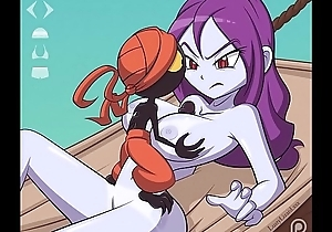Risky Boots from hammer away Shantae conviviality gets their way huge send-up jugs fucked and a facial with extra futa scenes