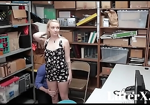 Dutiful Fair-haired TEEN FUCKED- LifterX.com