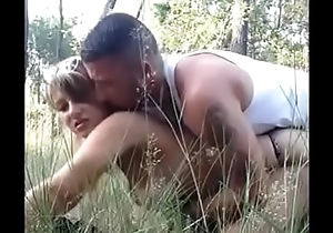 Really Hawt Outdoors Making love 31